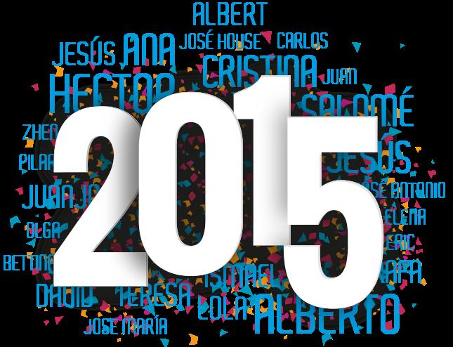 felicitacion 2015 Ideas con Alma