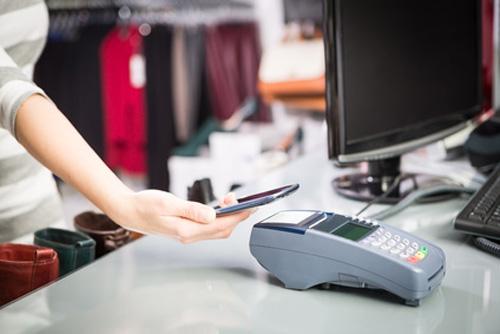 Tecnologías y diferentes plataformas de pagos móviles. En la imagen, tecnología NFC