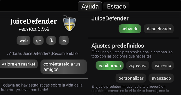 Juice Defender captura