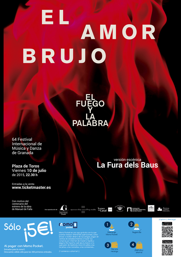 AMOR BRUJO en el Festival de Granada con Momo Pocket