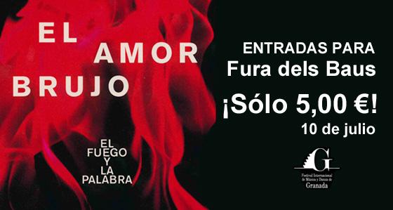 Fura dels Baus con Momo Pocket Festival de Granada